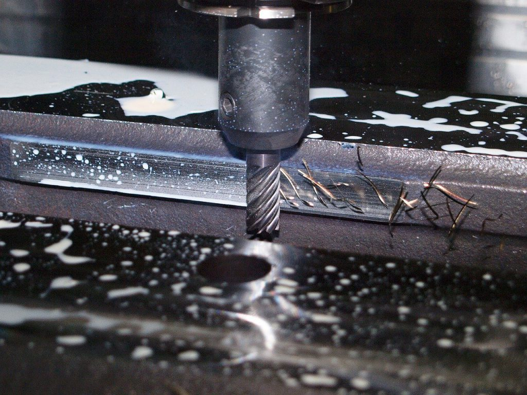 milling, machining, industry